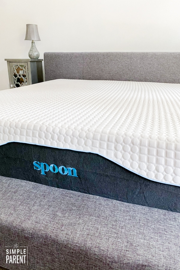 Spoon Mattress on low profile bed frame