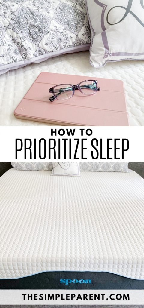 Tips for How to Prioritize Sleep