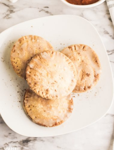 Air Fryer Pumpkin Hand Pies