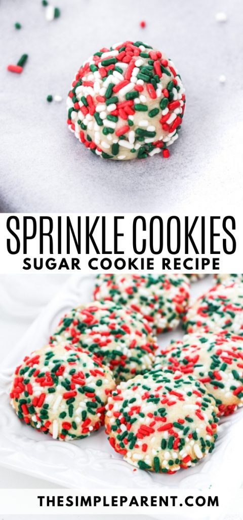 Sprinkles Cookies Recipe