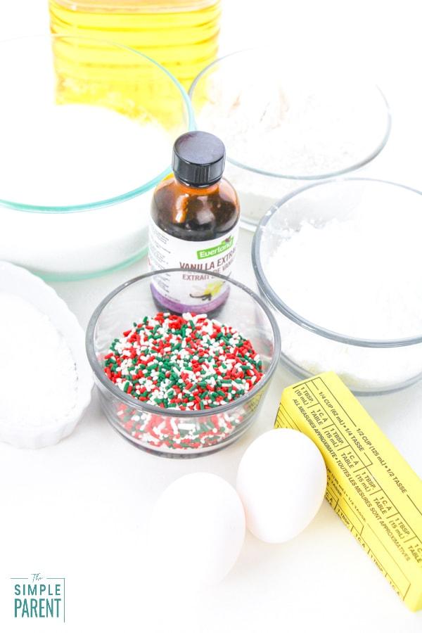 Sprinkles Cookies ingredients