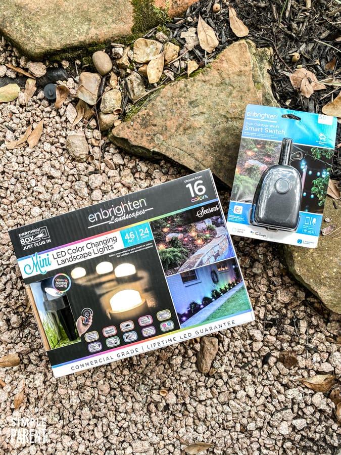 Enbrighten Landscape Lights and Outdoor Smart Plug