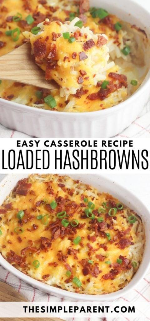 Loaded Hashbrown Casserole Recipe