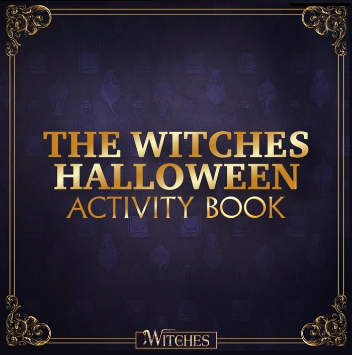 The Witches Halloween Activity Book