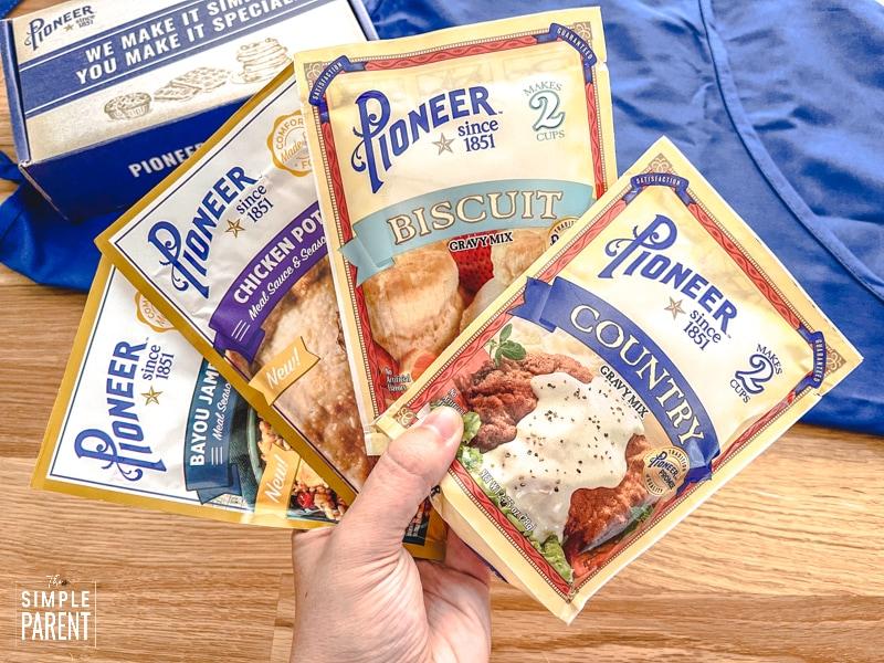 Pioneer Brand Gravy Mix packets