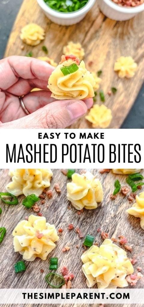 Mashed Potato Bites Recipe