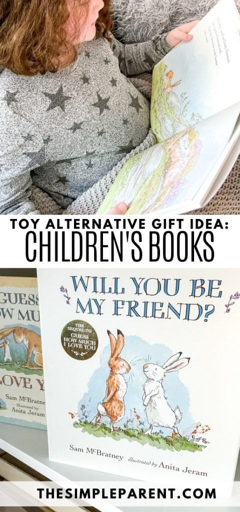 Alternatives to Toys as Gifts: Children's Books