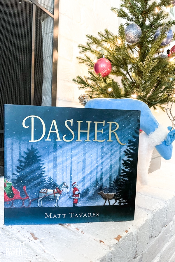 Dasher holiday book for kids