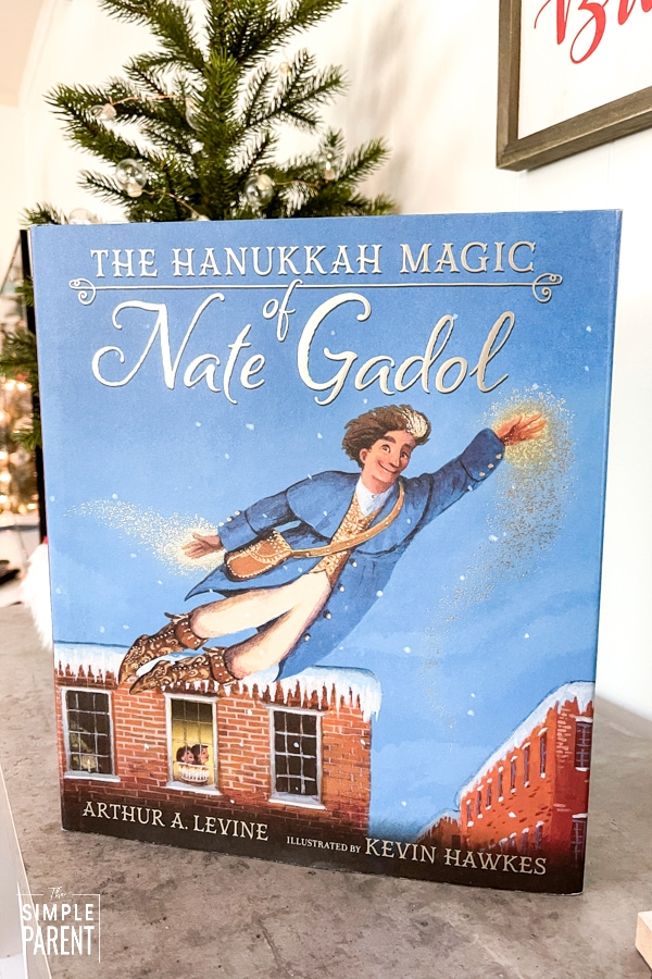 The Hanukkah Magic of Nate Gadol children's book