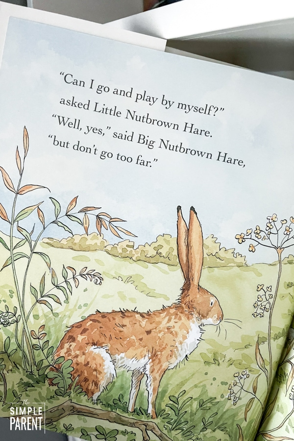 Page from the children's book Will You Be My Friend?