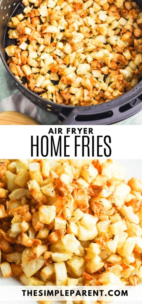Air Fryer Home Fries Recipe