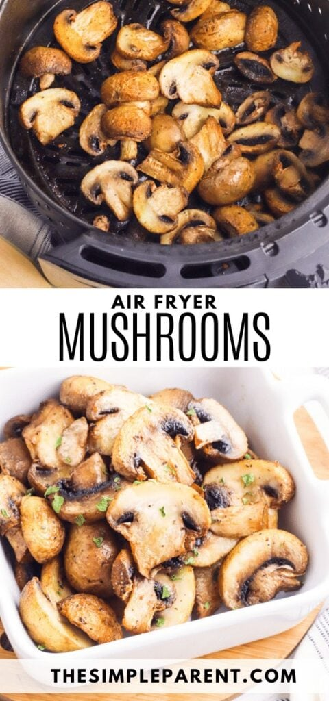 Air Fryer Mushrooms Recipe