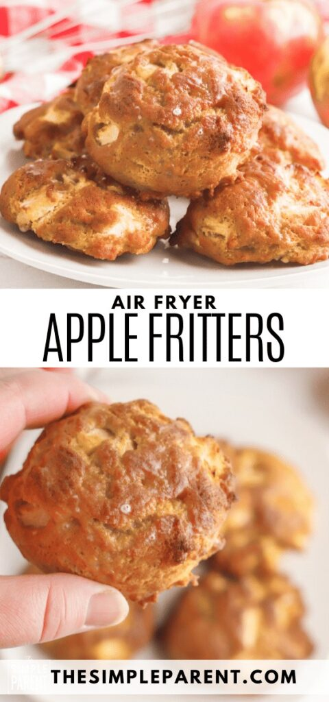 Recipe for air fryer apple fritters