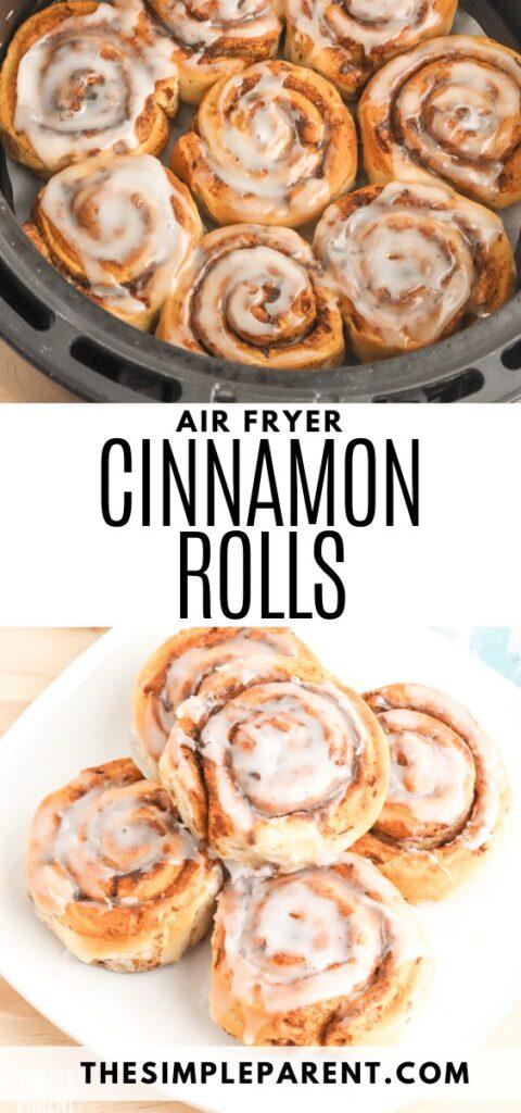 How to Make Air Fryer Cinnamon Rolls