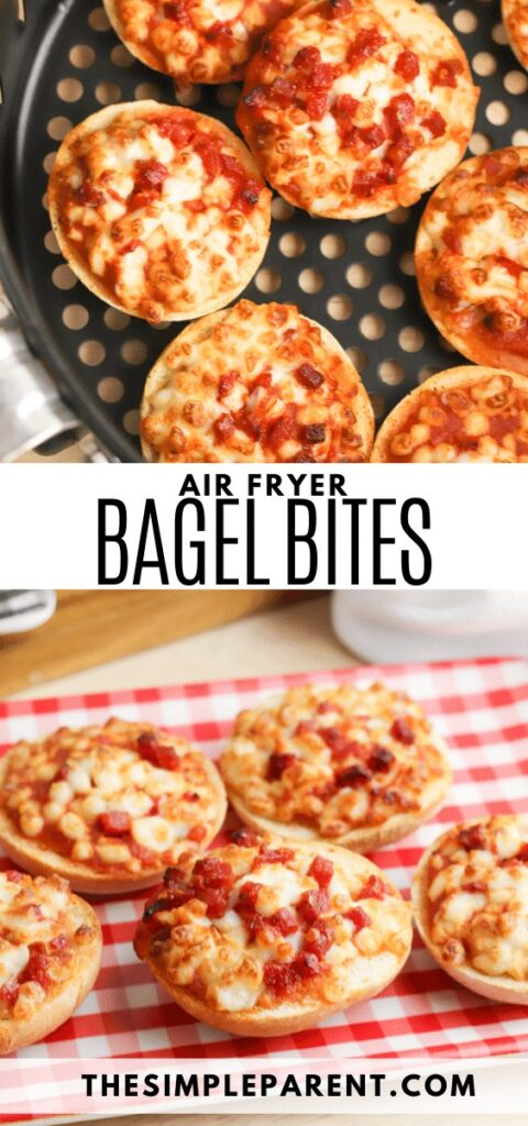 Air Fryer Bagel Bites Recipe