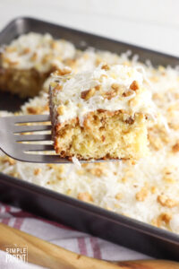 Crushed Pineapple Cake Recipe