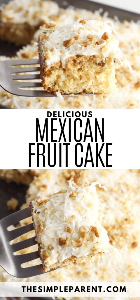 Mexican Fruit Cake Recipe