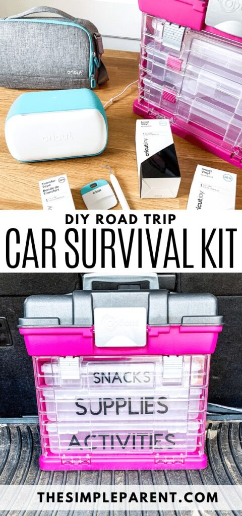 Personalized DIY Car Survival Kit for Families Tutorial