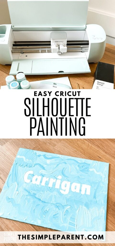 Easy Silhouette Painting for Kids