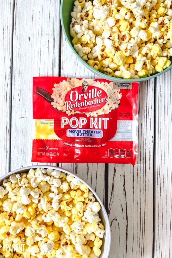Movie Theater Butter Pop Kit