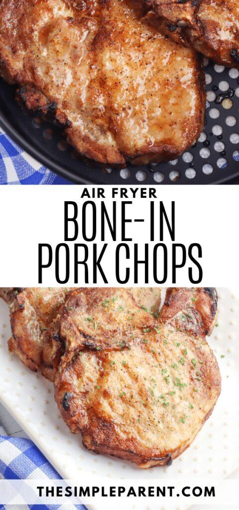 Bone In Pork Chops in Air Fryer