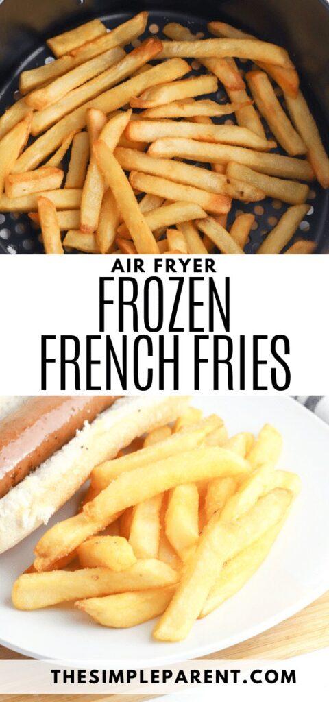 Frozen French Fries in Air Fryer